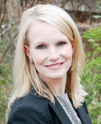 Agente de seguros Sarah Clayton