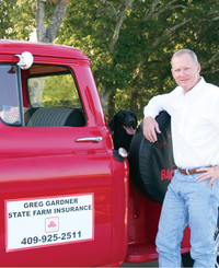 Insurance Agent Greg Gardner