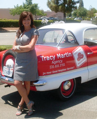 Insurance Agent Tracy Vaine